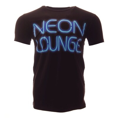 Krakatoa UV Reactive Ink Tiki Dive Bar Mens T-Shirt / Tee - 'Neon Lounge'