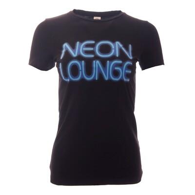 Krakatoa UV Reactive Ink Tiki Dive Bar Ladies T-Shirt / Tee - 'Neon Lounge'