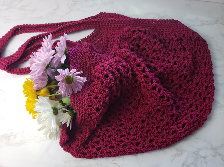 Market Day Bag Crochet Pattern