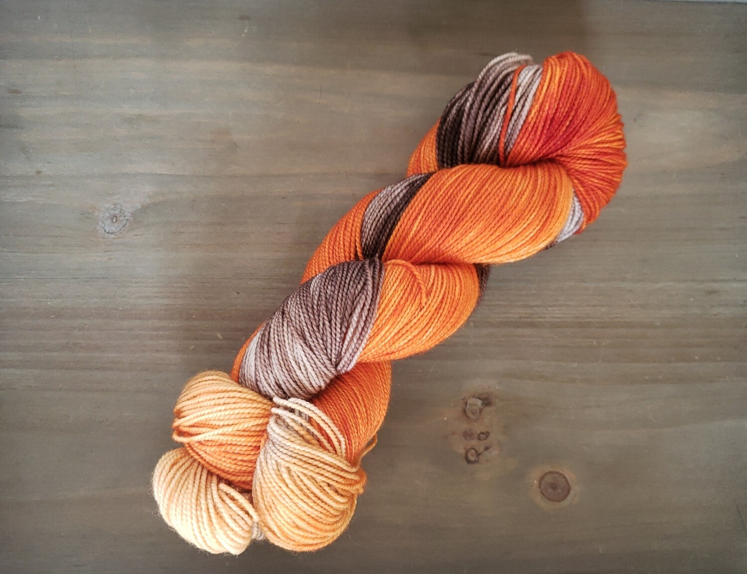 Autumn Hand Dyed Yarn