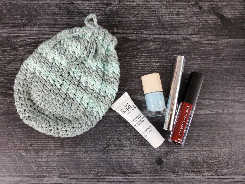 Rainy Day Pouch Crochet Pattern