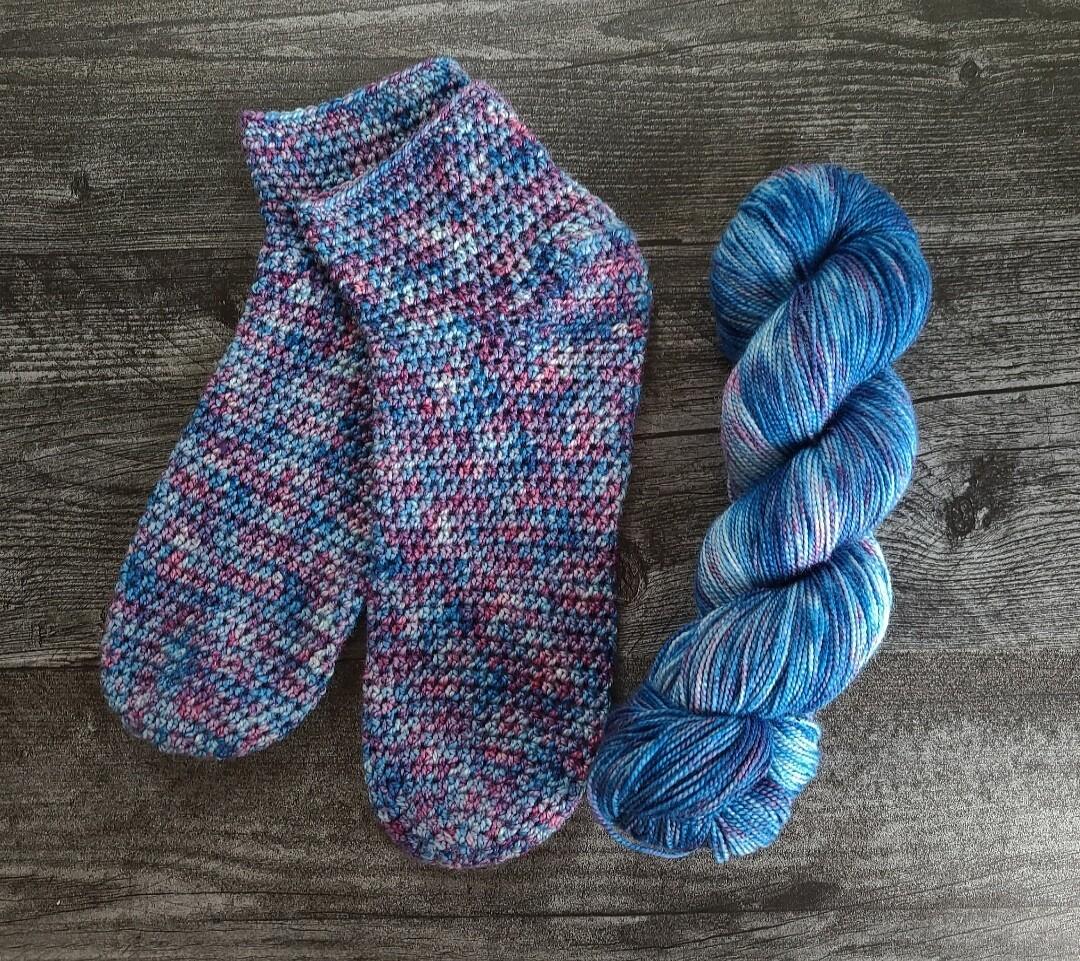 Ready to Ship Simplicity Socks Crochet Kit