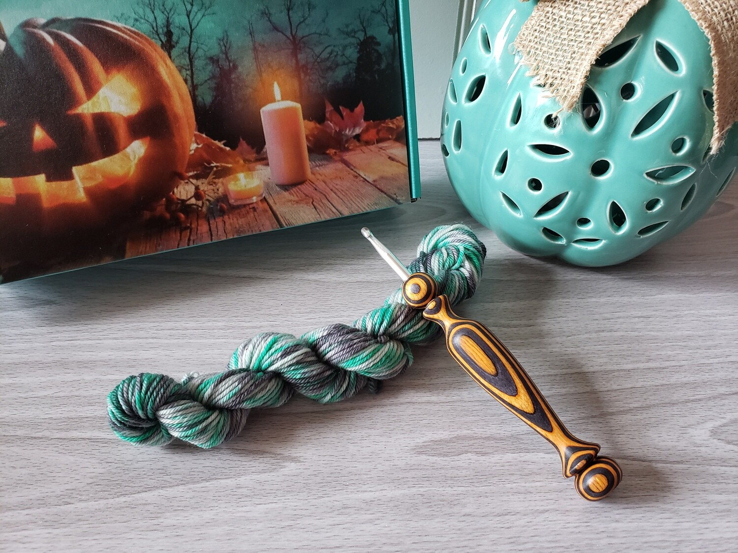 Wicked Witch Hand Dyed Yarn