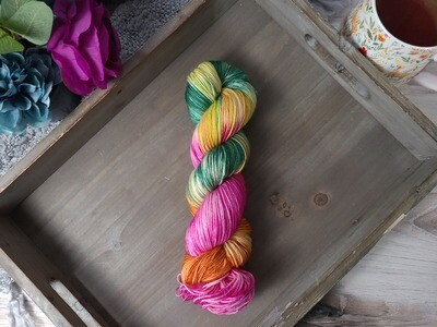 Tropics Hand Dyed Yarn