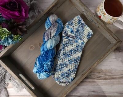 Wonderland Crochet Sock Kit Ready to Ship