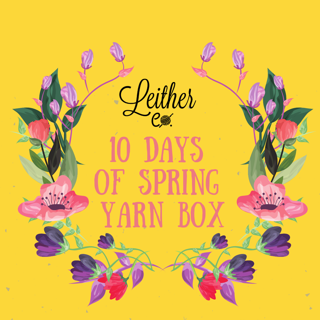 10 Days of Spring Yarn Box