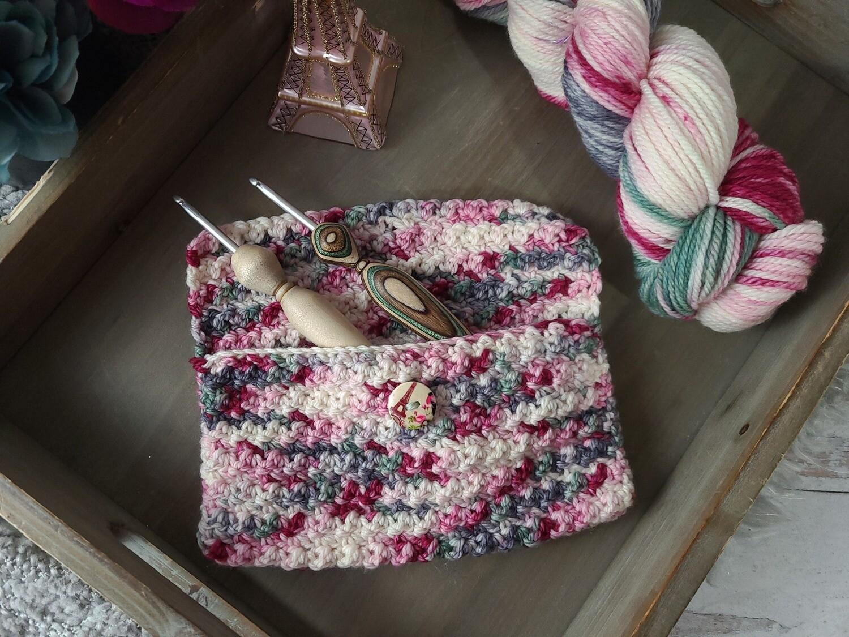 Paris Crochet Hook Pouch Crochet Kit