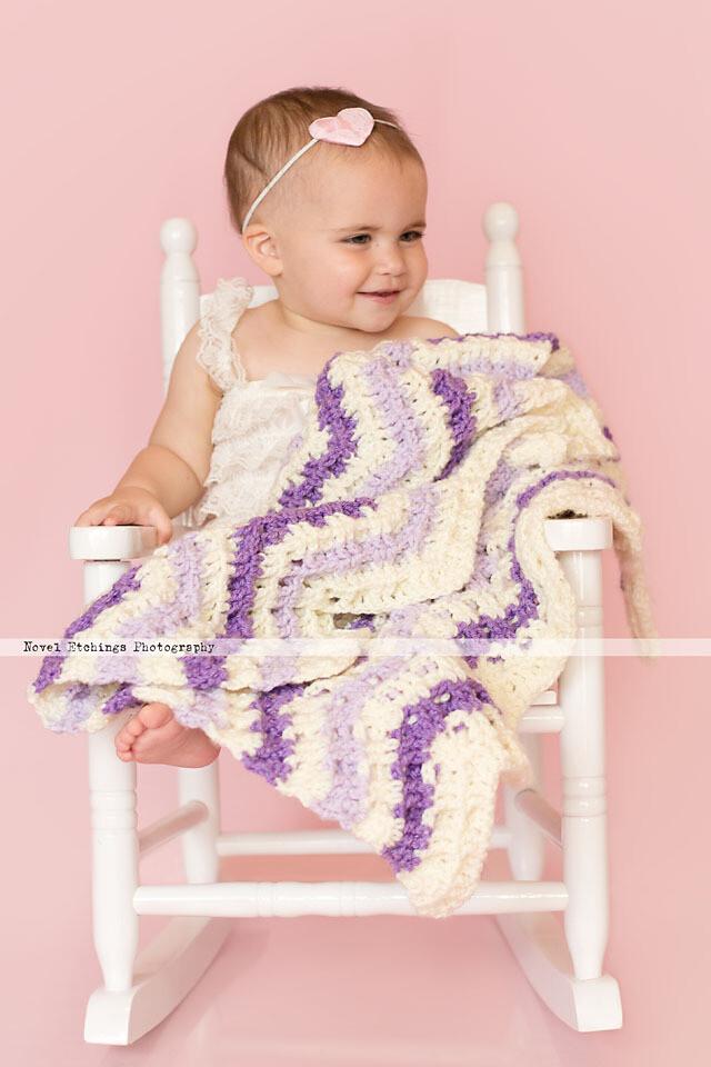Chevron Waffle Blanket Crochet Pattern