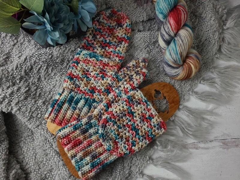 London Glittens Crochet Kit