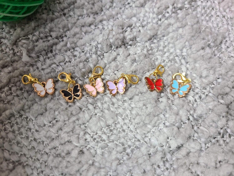 Butterfly Stitch Marker Set