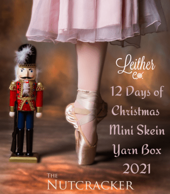 12 Days of Christmas Mini Skein Yarn Box