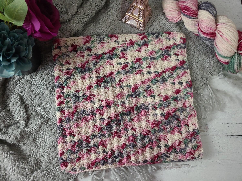 Square #1 Paris Crochet Square (Destination Blanket)