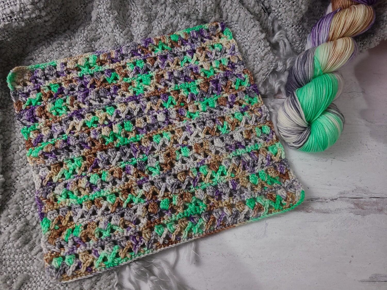 Square #5 Japan Crochet Square (Destination Blanket) PDF
