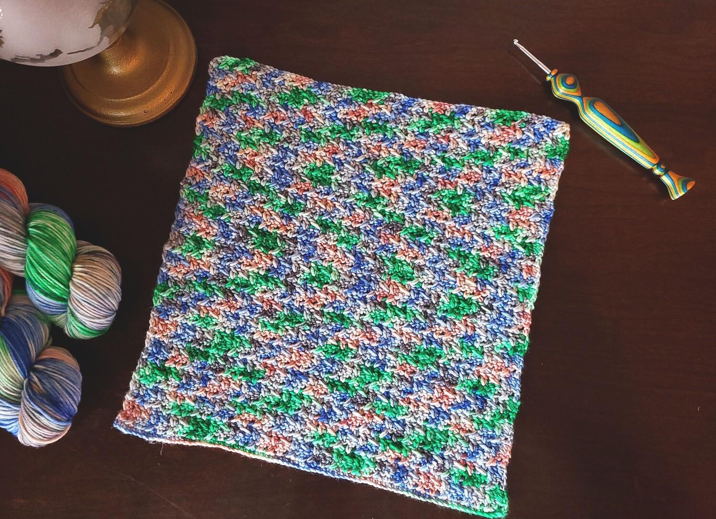 Square #6 Italy Crochet Square (Destination Blanket) PDF