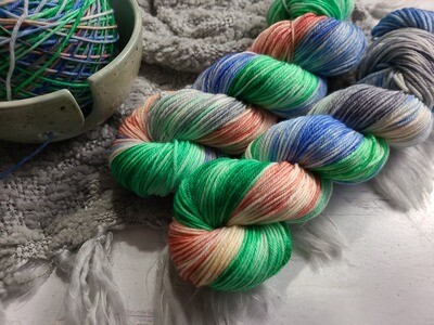 Italy Hand Dyed Yarn