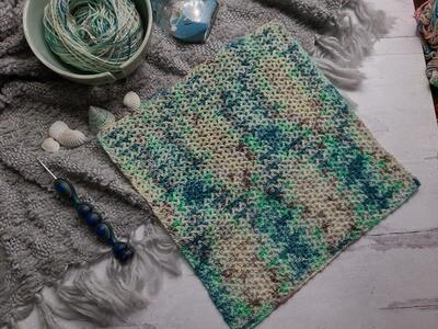 Square #9 Fiji Crochet Square (Destination Blanket) PDF