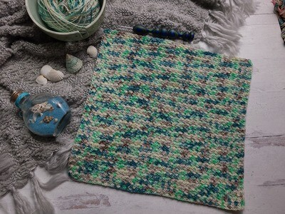 Square #8 Fiji Crochet Square (Destination Blanket) PDF