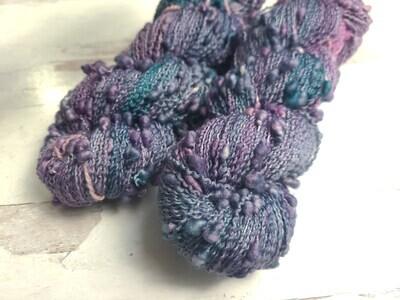 OOAK Slub Hand Dyed Yarn Ready to Ship