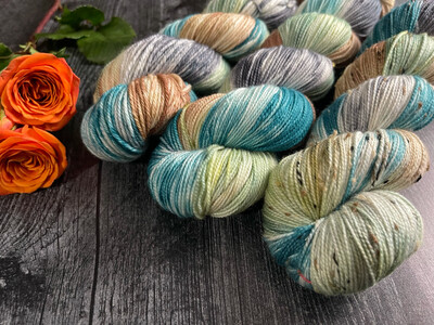 Forest Road Hand Dyed Yarn - It's Fall Ya'll Collection