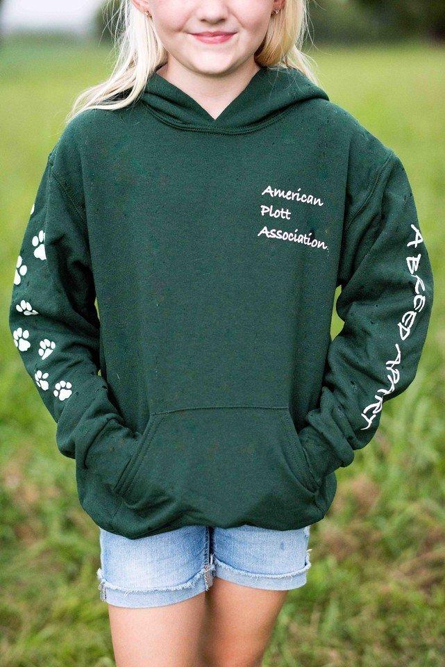 Youth Green Hoodie