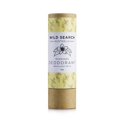 Biodegradable Deodorant Stick -Lemon Myrtle (40g)