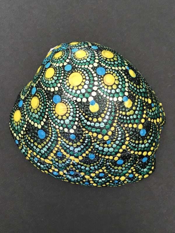 Sea Shell Peacock Design Mandala Art Home Decor