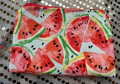 FoodSafe and Waterproof Watermelon Snack Bag