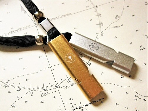 Travellers Cross Safety Whistle - sAfe Jewellery