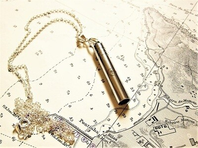 Travellers Cross Whistle necklace - sAfe Jewellery