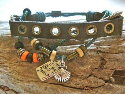 Camino bracelet - scallop shell NaturalSoul ~ find joy