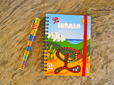 Indalo notebook and pen gift set
