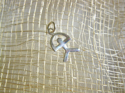 Indalo lucky charm - sterling silver