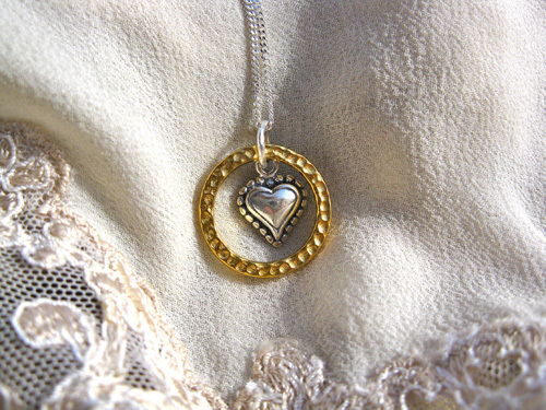 Eternal Love necklace ~ silver