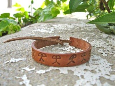 Indalo wellness bracelet, leather