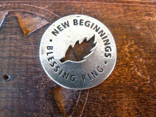 Blessing ring for New Beginnings
