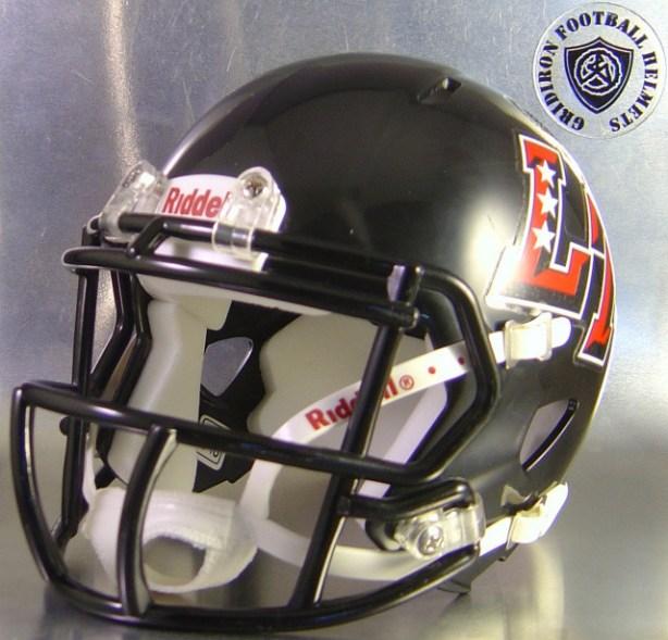 Austin Lake Travis Cavaliers HS 2010 (TX) - mini-helmet