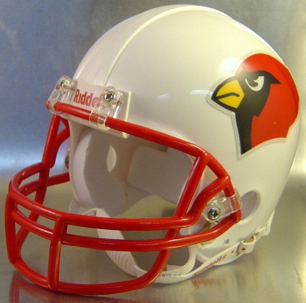 Bridge City Cardinals HS 1991 (TX) - mini-helmet