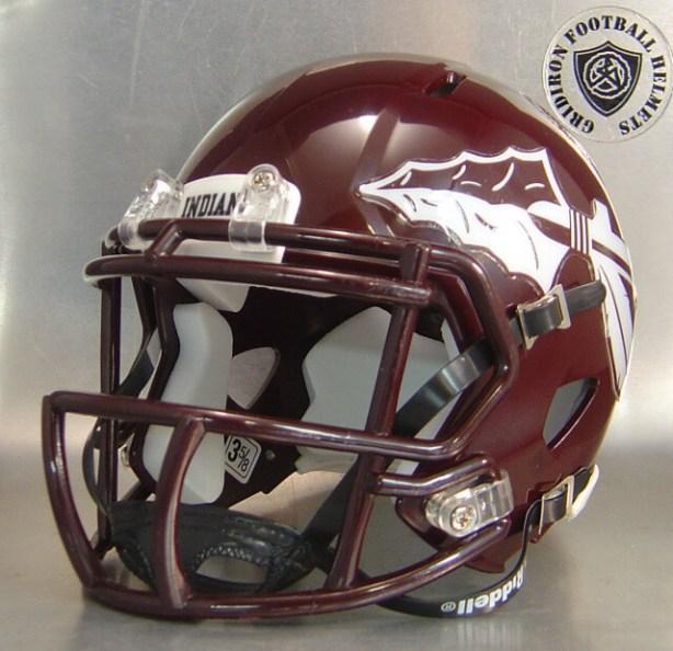 Ganado Indians HS (TX) 2016-2017 - mini-helmet