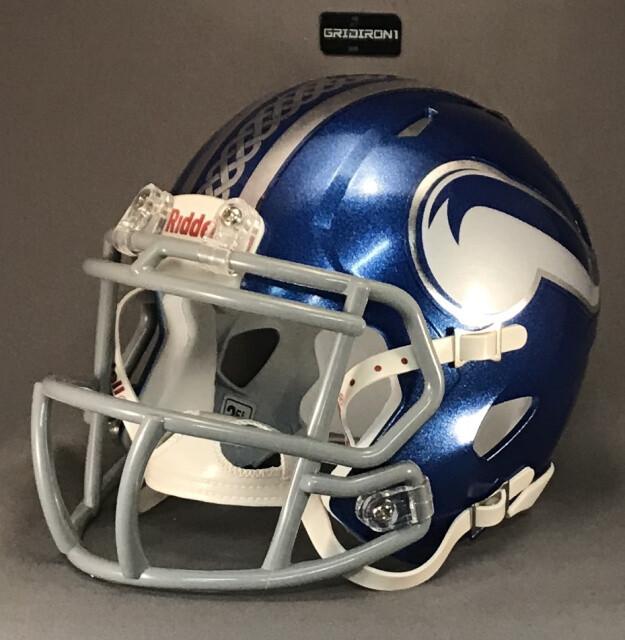 Nolan Catholic Vikings HS 2018 (TX) - mini-helmet