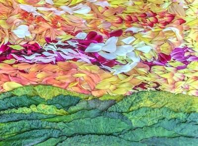 Petal Pointillism # 9