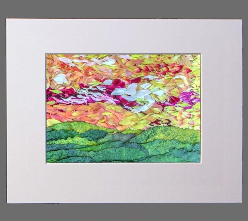 Petal Pointillism # 9  8