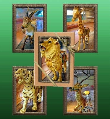 Dentzel Carousel Greeting Card Collection