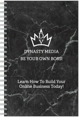 DYNASTY MEDIA NOTEBOOK W/ D.Y Pen