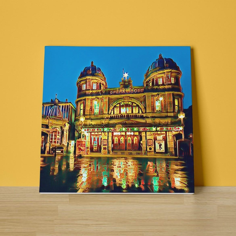 Buxton Opera House Canvas Print
