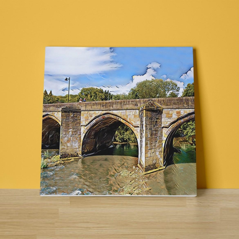 Matlock Bridge Canvas Print