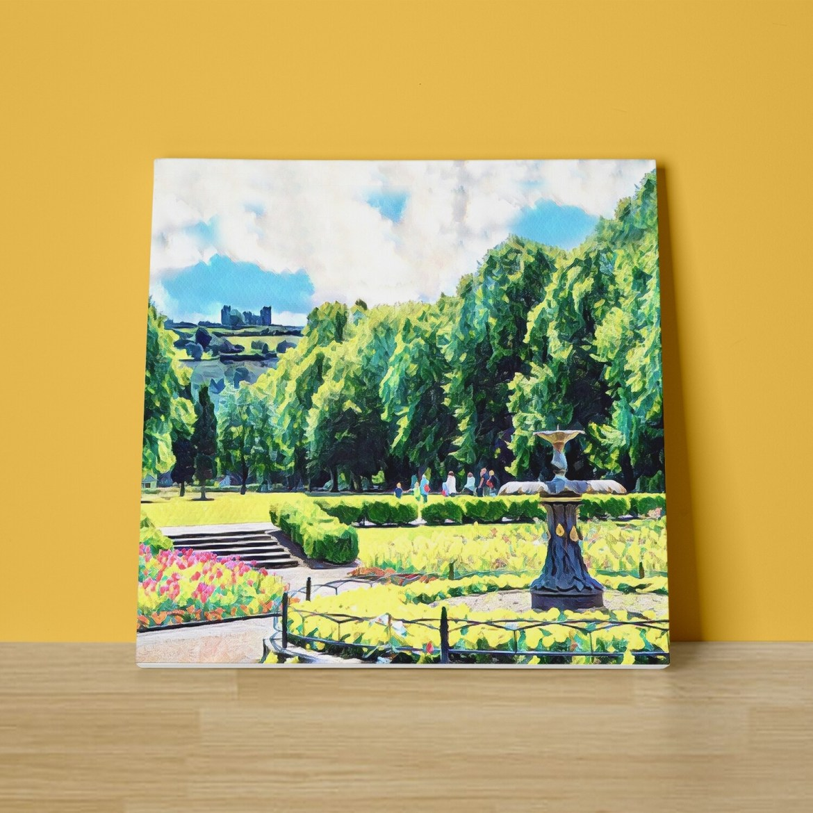 Hall Leys Park Canvas Print