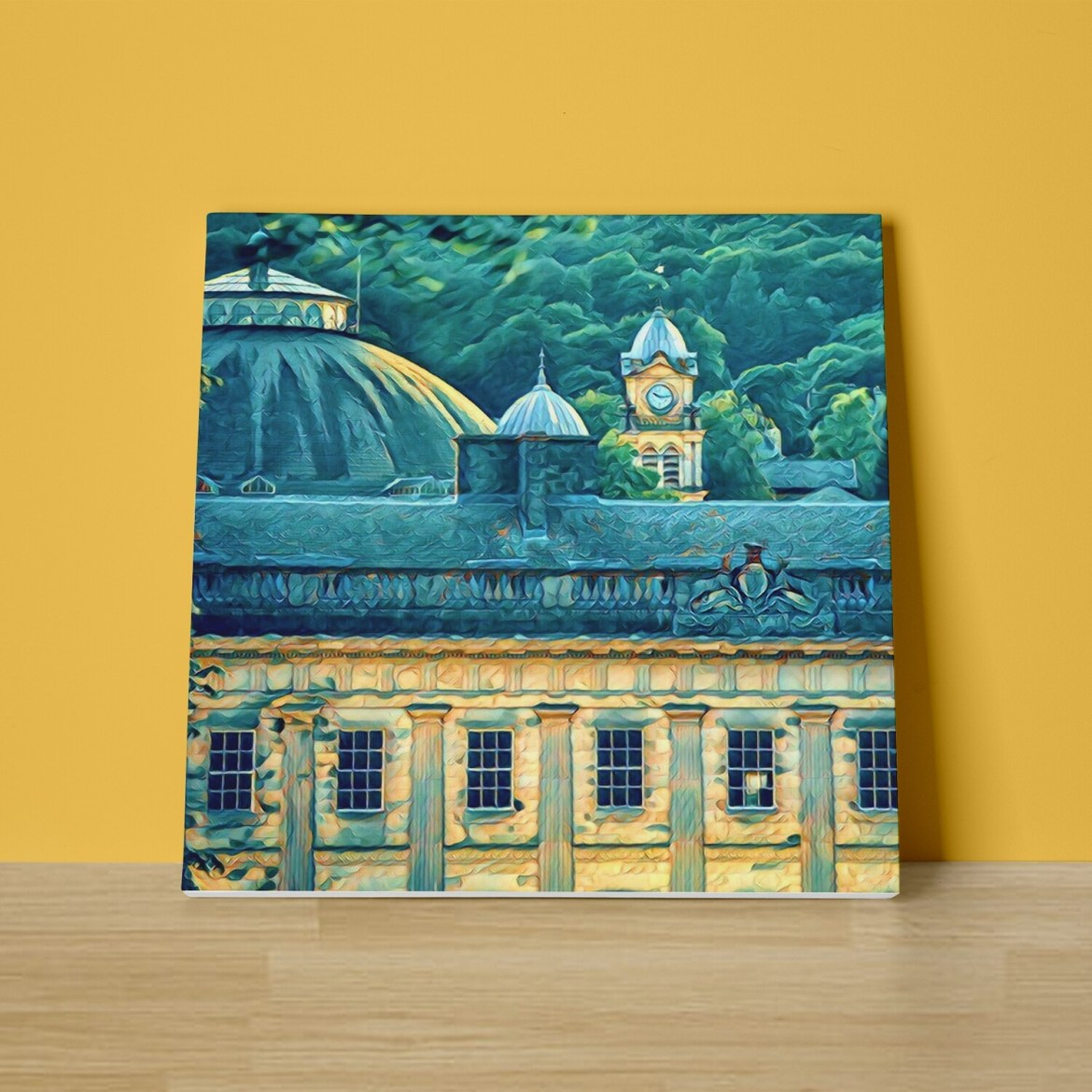 Buxton Skyline Canvas Print