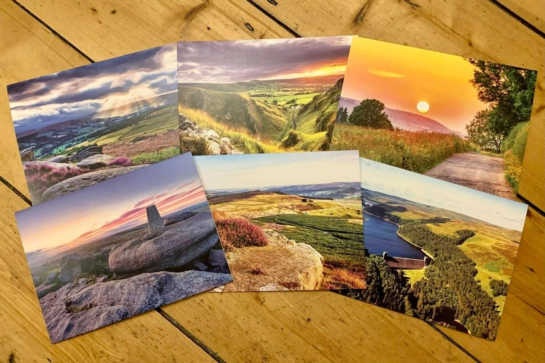 Peak District Greeting Card Bundle (6 in a pack)