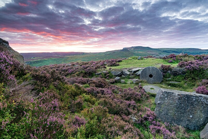 Burbage Valley Sunset