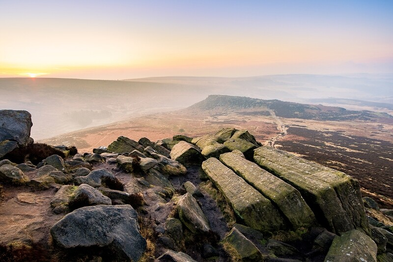 Higger Tor and Burbage Sunrise